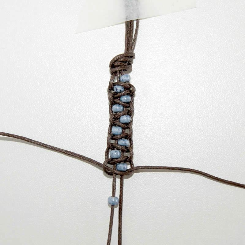 Creaclic Ch Fiche Creative Bracelet Facon Macrame Avec Perles